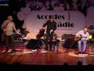 Capa do vídeo M. Pereira, P. Bellinati e W. Lopes - Só Danço Samba - Festival Acordes do Rádio