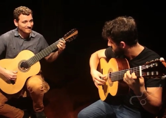 Capa do vídeo Waldir Junior e Guilherme Girardi - Meu Avô (Raphael Rabello)